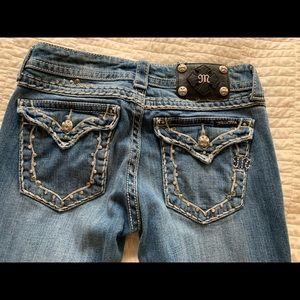 MissMe Jeans 27x31.  Perfect condition!